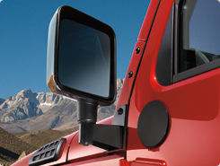 Jeep Wrangler side mirror recall