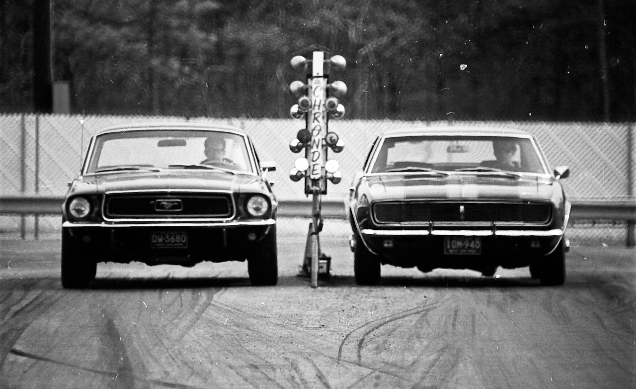 1968 Ford Mustang and Chevrolet Camaro road test by Car and Driver Magazine