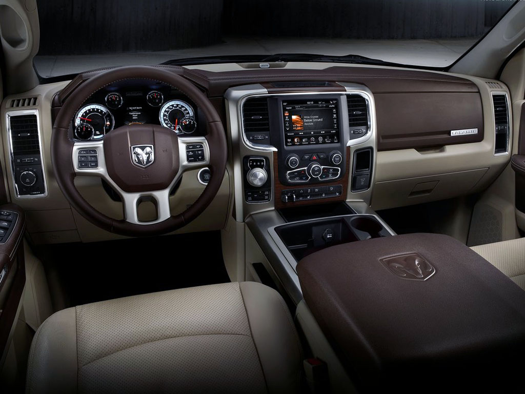 2015 RAM 1500 interior