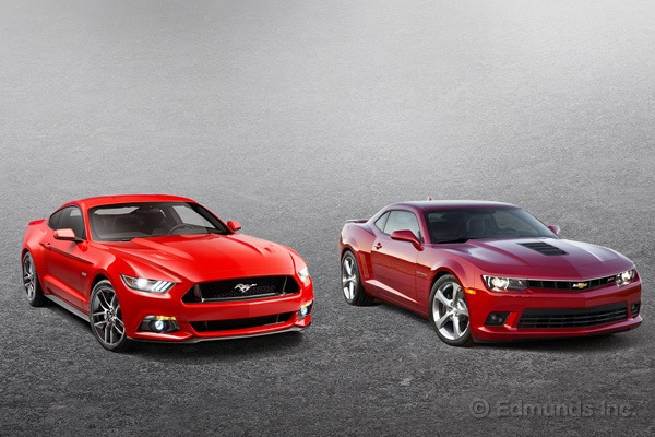 2015 Ford Mustang vs 2015 Chevrolet Camaro