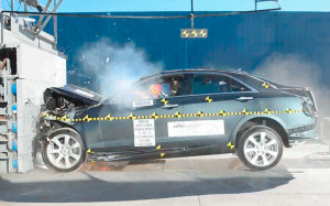 2013 Cadillac ATS Crash Test
