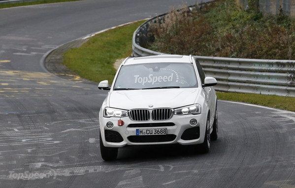 2016 BMW X4 M40i Spy Shots, Photo credits: Topspeed.com