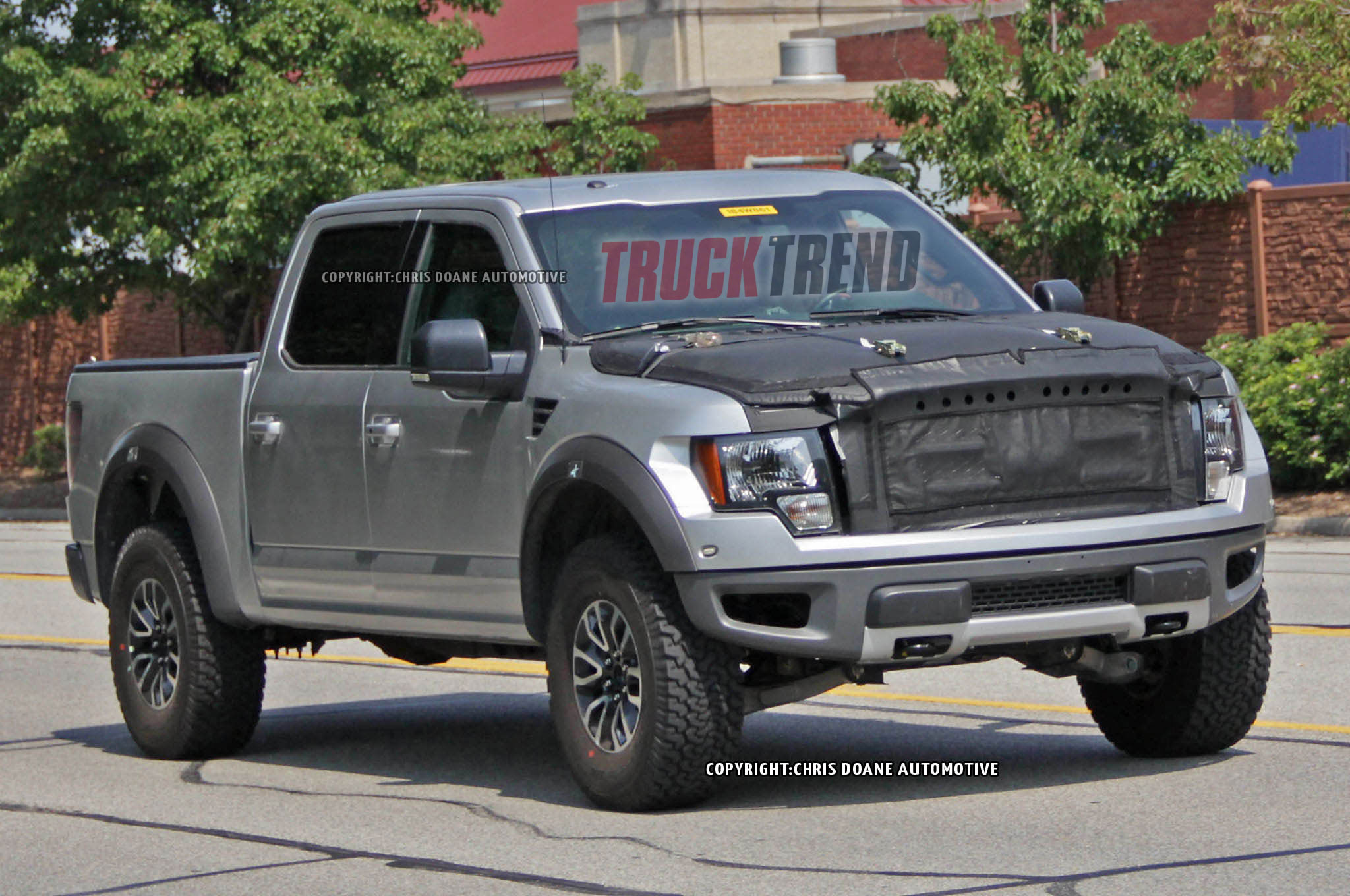 2016 Ford Raptor, while testing in Dearborn