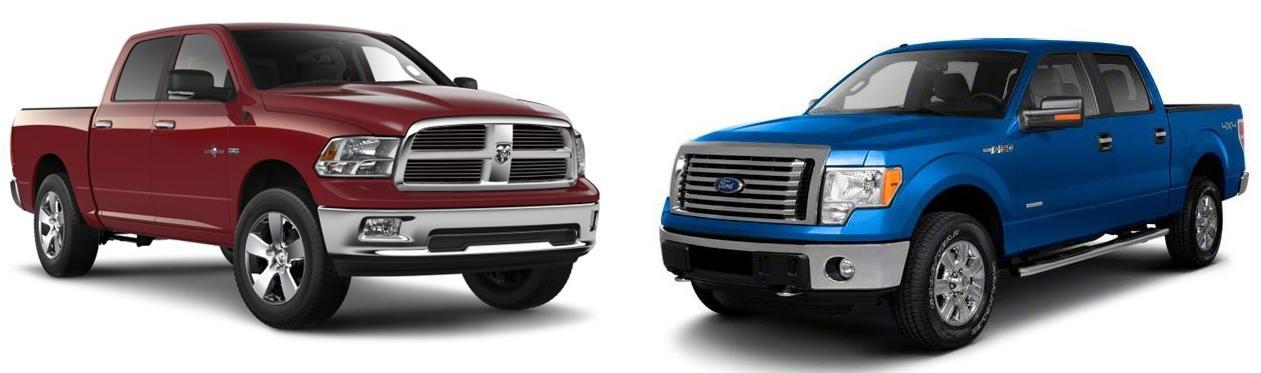 2015 Ford F150 vs 2015 RAM 1500