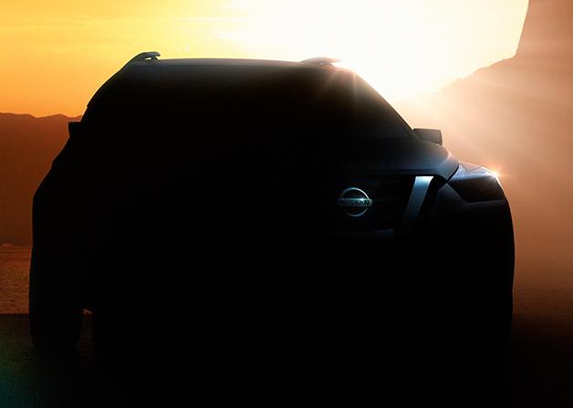Nissan mini-SUV teaser