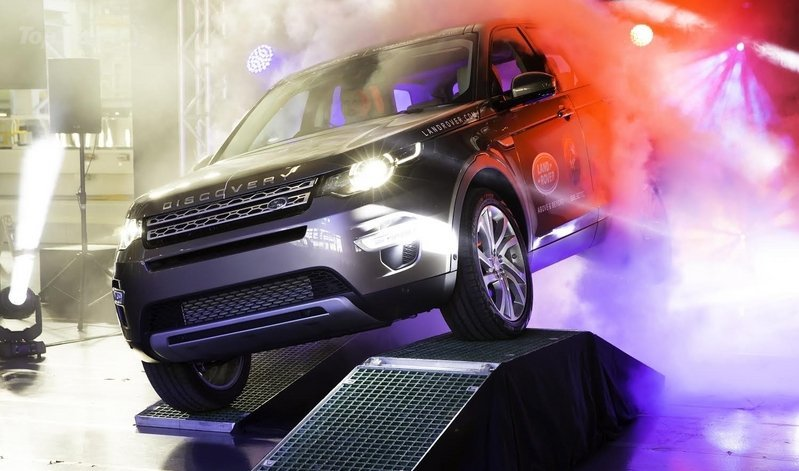 First Land Rover Discovery Sport Came From The Production Line
