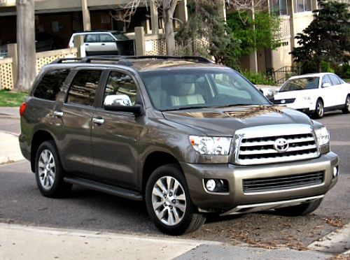 Future Models: 2016 Toyota Sequoia