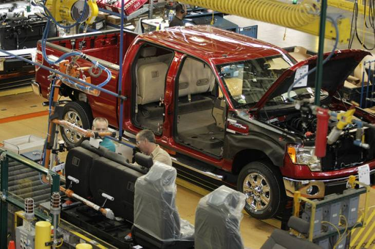 2015 Ford F150 Production