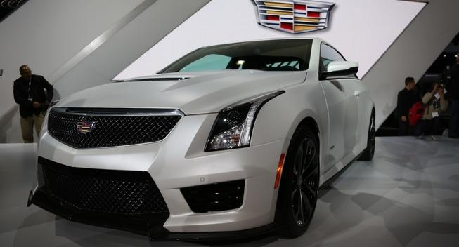 2016 Cadillac ATS-V Coupe. Photo credits: http://www.leftlanenews.com/cadillac-ats-v-coupe.html