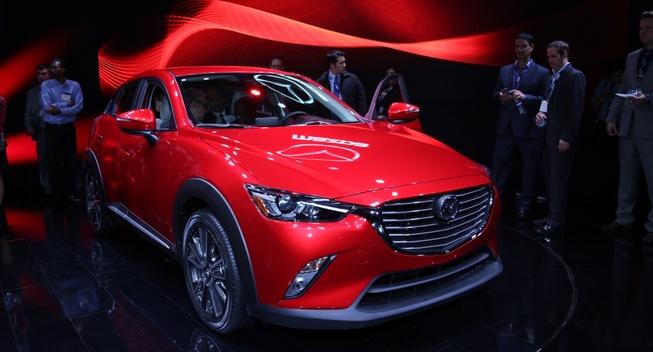 2016 Mazda CX-3. Photo credits: http://www.leftlanenews.com/mazda-cx-3-2016.html