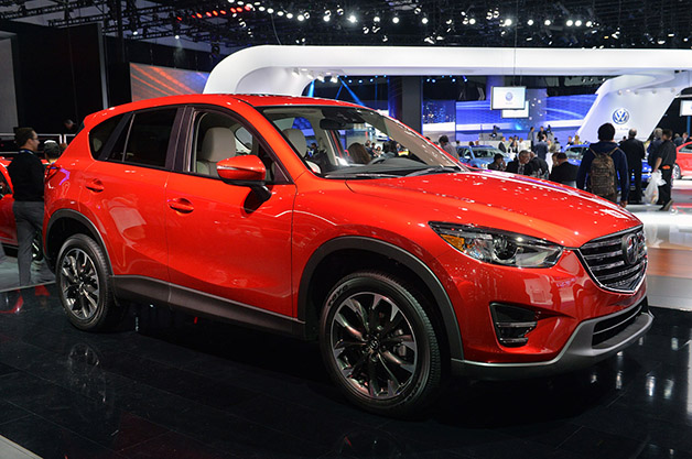 2016 Mazda CX-5. Photo credits: http://www.autoblog.com/2014/11/19/2016-mazda-cx-5-official/