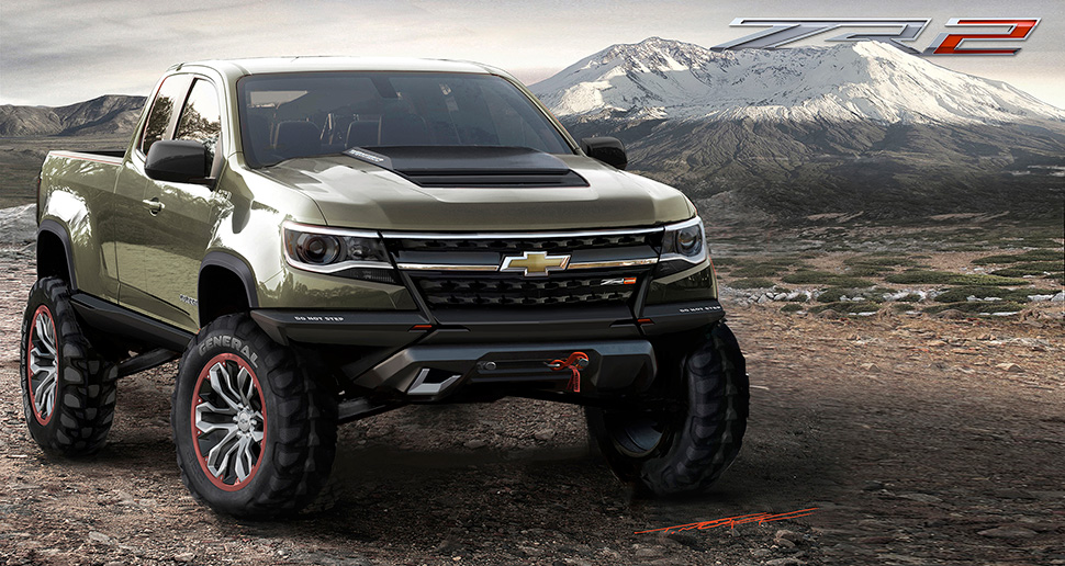 2016 Chevrolet Colorado ZR2 Concept. Photo credits: http://laautoshow.com/wp-content/uploads/2013/09/edit-2015-Chevrolet-ColoradoZR2-Concept-141.jpg