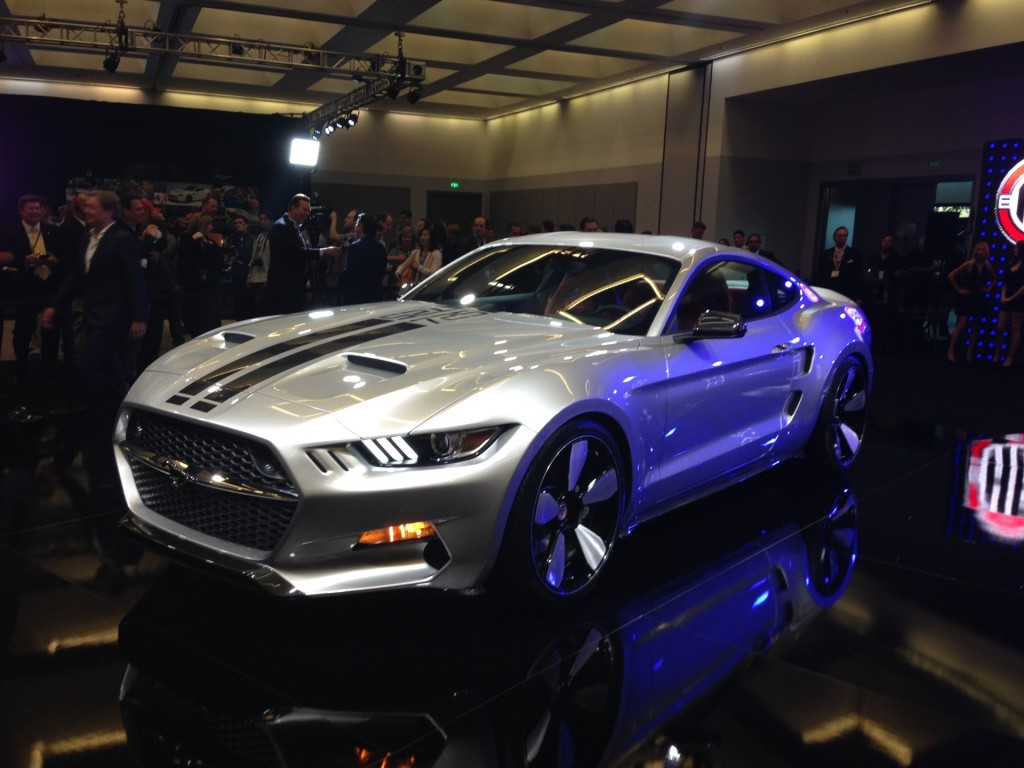 2014 LA Auto Show Henrik Fisker- Glapin Auto Sports Mustang Rocket. Photo credits: http://www.motorauthority.com/image/100491085_galpin-auto-sports-and-henrik-fisker-rocket-2014-los-angeles-auto-show