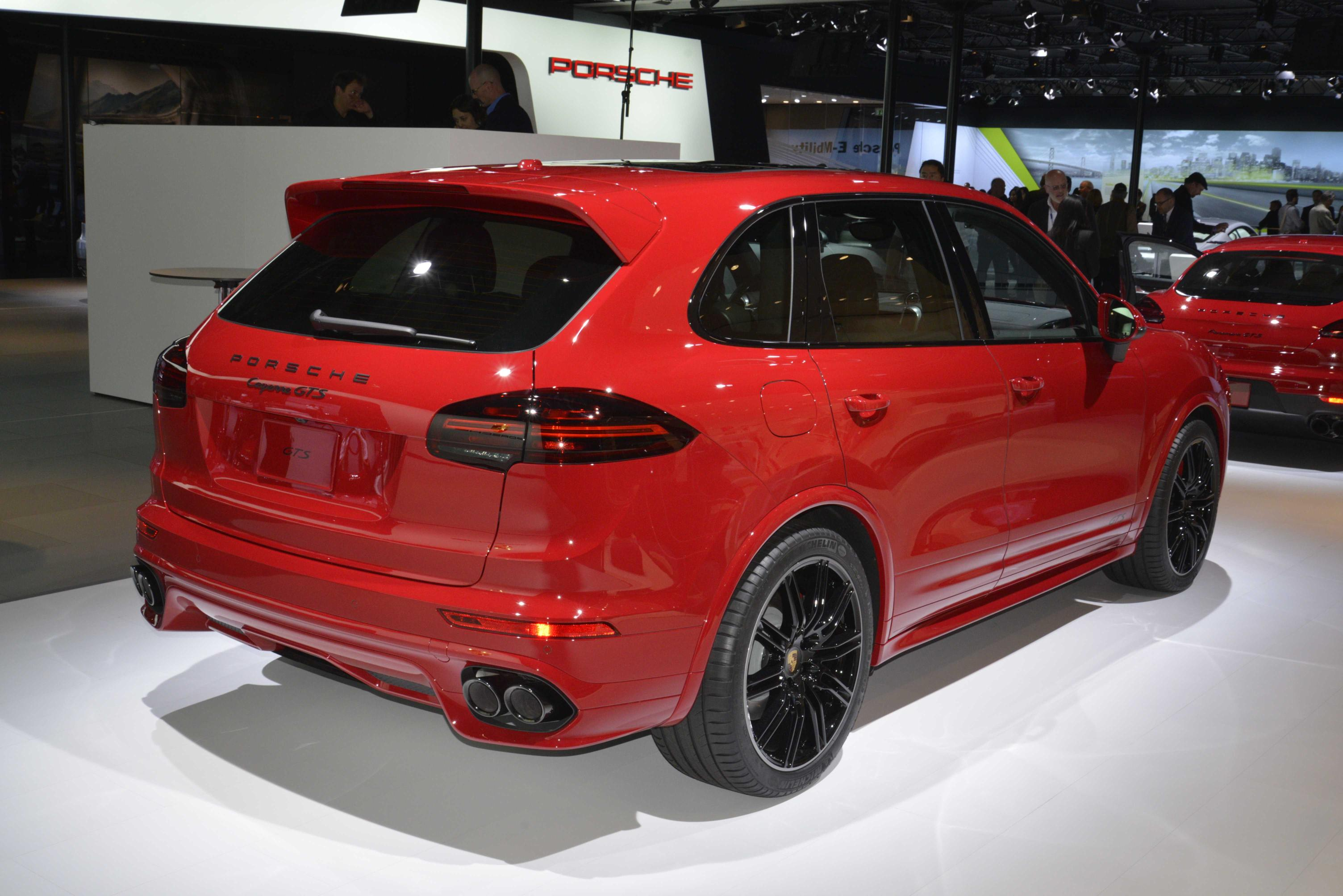 2016 Porsche Cayenne GTS. Photo credits: http://www.autoevolution.com/news/porsche-911-carrera-gts-and-2015-cayenne-gts-paint-la-in-carmine-red-live-photos-89123.html