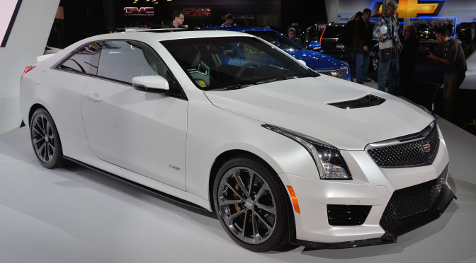 2016 Cadillac ATS V Performance Safety Interior Exterior Car