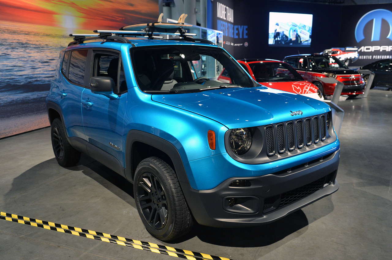 2015 Jeep Renegade on 2014 SEMA