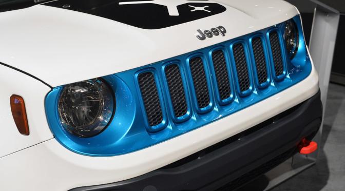 2015 Jeep Renegade on 2014 SEMA. Photo taken by Drew Philipps, and found on: http://ca.autoblog.com/photos/jeep-renegade-customs-sema-2014-0/#photo-3081887