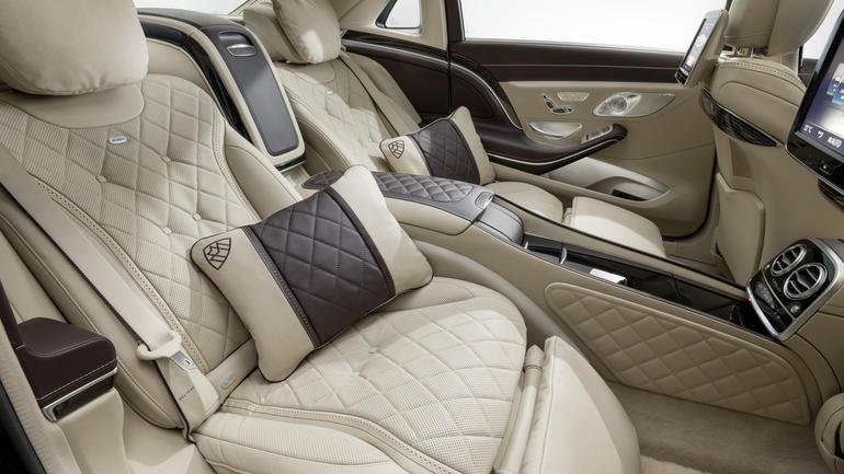 2016 Mercedes Maybach S600 interior