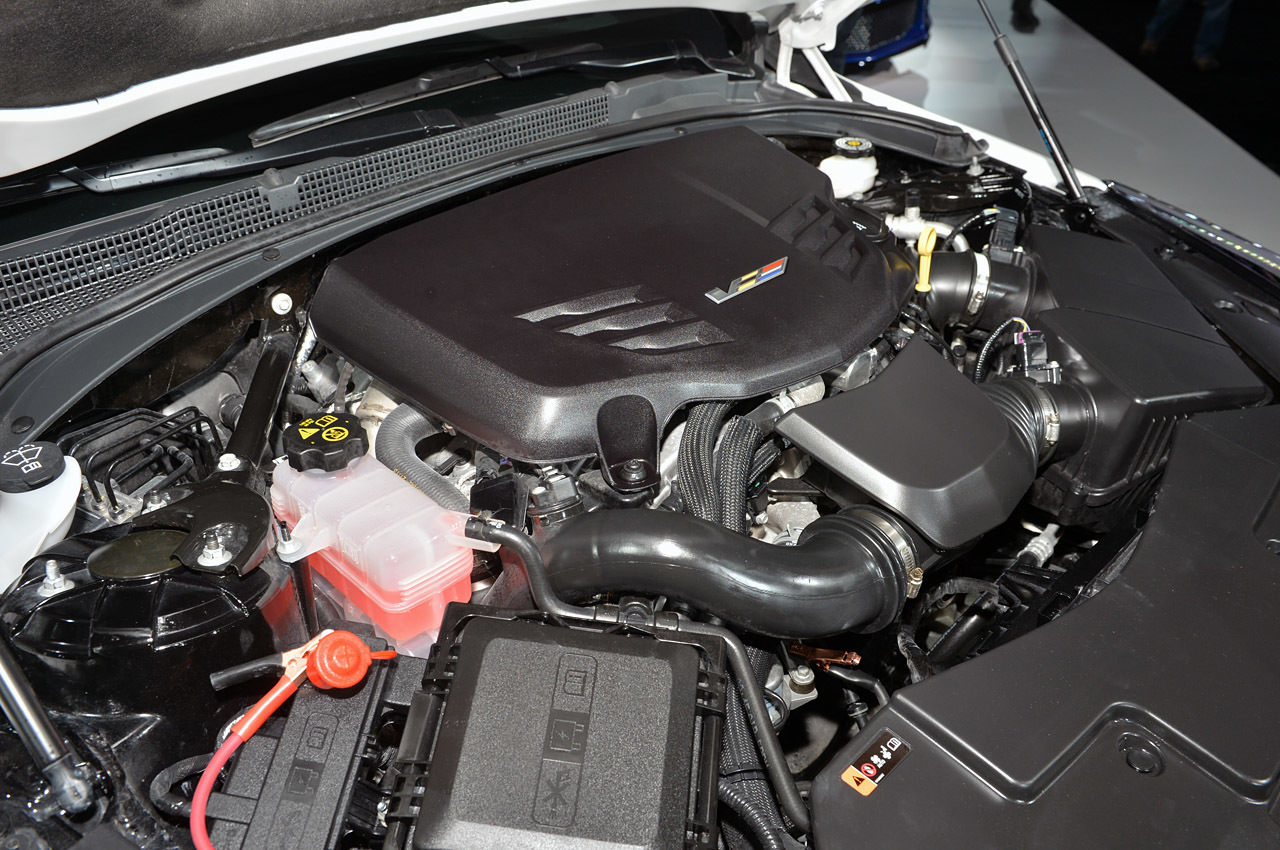 2016 Cadillac ATS V Engine Photo Credits
