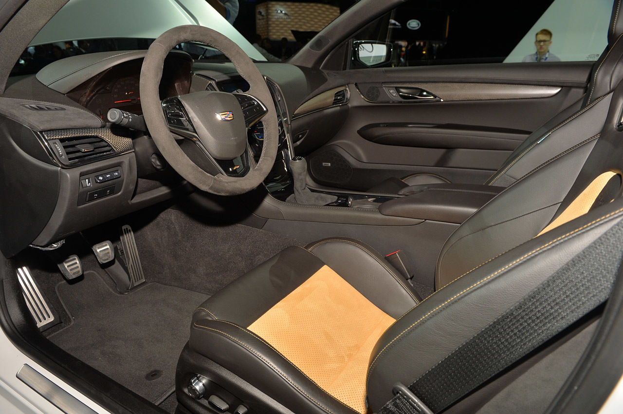 2016 Cadillac ATS V Interior Photo Credits