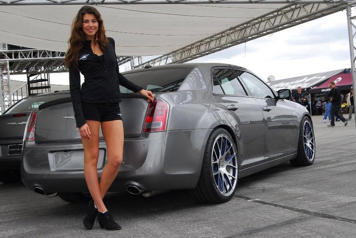 2015 Chrysler 300 and a hot model
