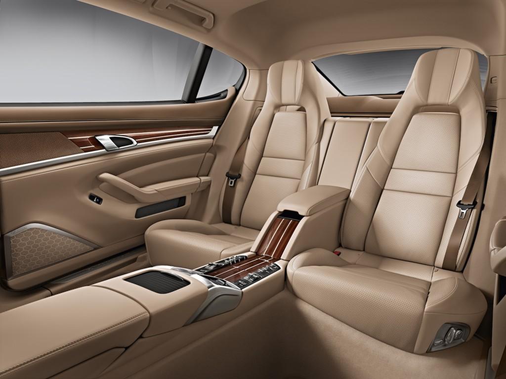 2015 porsche panamera interior rear seat