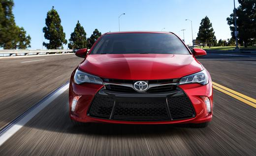 2015 Toyota Camry. Photo credits: http://www.caranddriver.com/photos-14q2/589216/2015-toyota-camry-xse-photo-589426