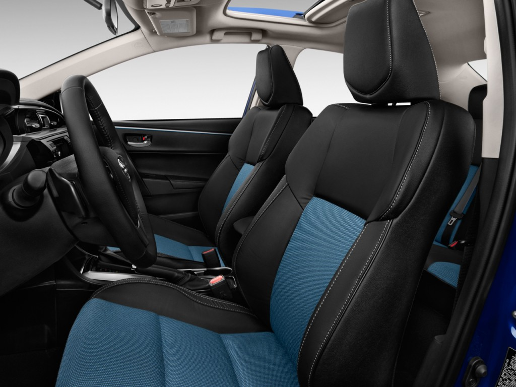 2015 Tozota Corolla Interior front seats. Photo credits: http://www.thecarconnection.com/photos/toyota_corolla_2015