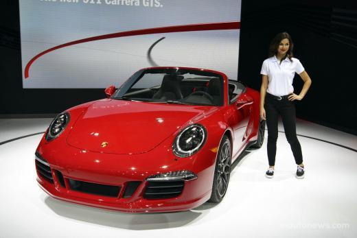 2015 Porsche 911 Carrera GTS on 2014 LA Auto Show