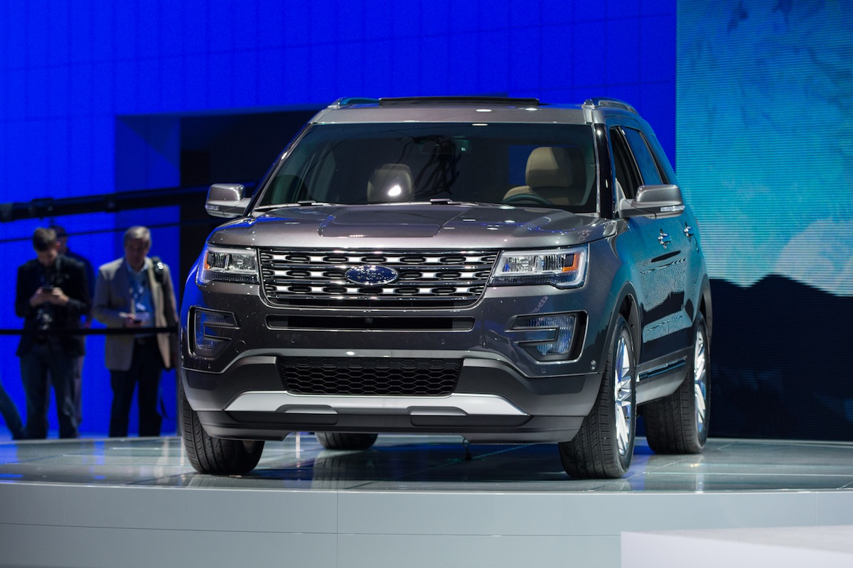 2016 Ford Explorer at 2014 LA Auto Show