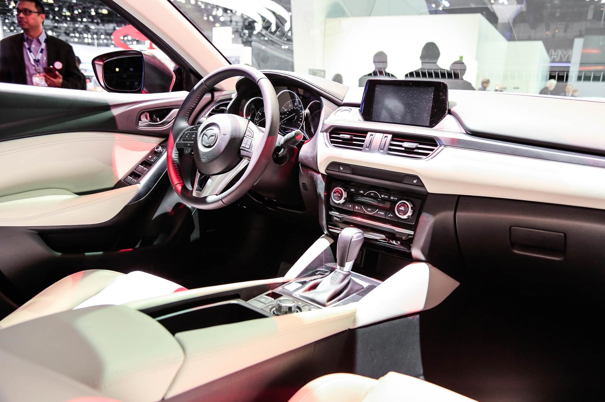 2016 Mazda 6 interior on 2014 LA Auto Show