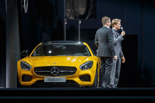 2016 Mercedes Benz AMG GT S