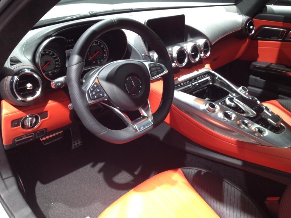 2016 Mercedes AMG GT S interior