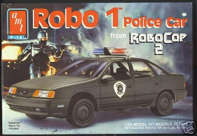 Robo Cop Ford Taurus Model Kit. Photo credits: http://www.ford-taurus.org/taurusinfo/Other/Models.php