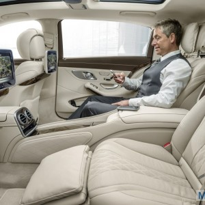 2016 Mercedes Maybach S600 interior on 2014 La Auto Show