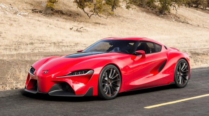 Toyota FT 1 Concept, 2015 Toyota Supra. Photo Credits: Http:/