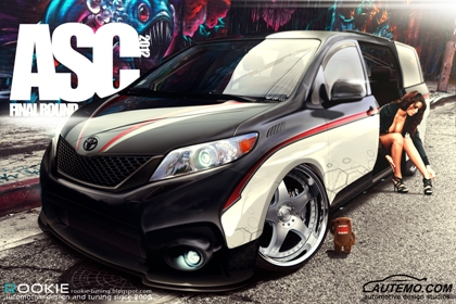 Toyota Sienna hot girl