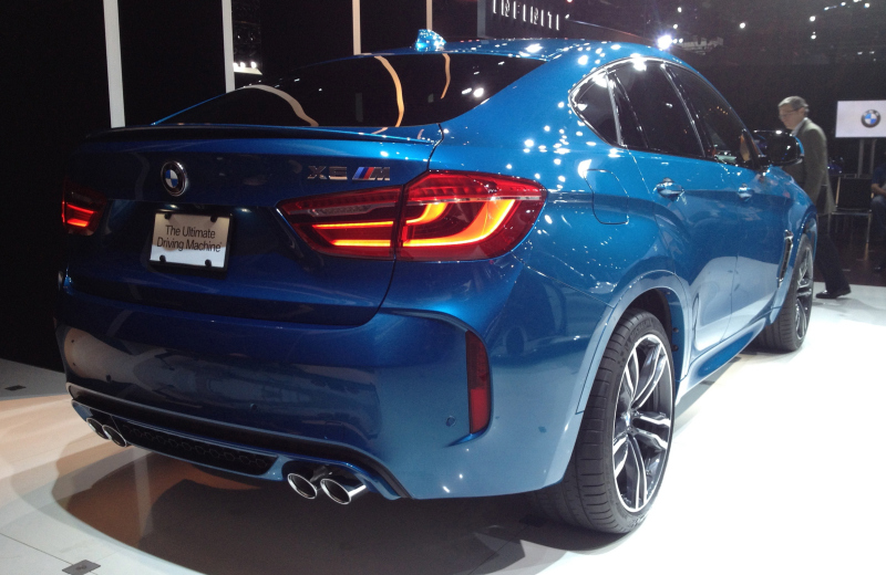 2016 BMW X5 M. Photo credits: http://driving.ca/bmw/x5/auto-shows/l-a-auto-show/bmw-shows-updated-x5-m-and-x6-m-for-2016-in-l-a