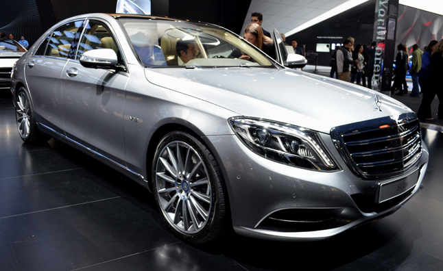 2016 Mercedes Maybach S600 on 2014 La Auto Show