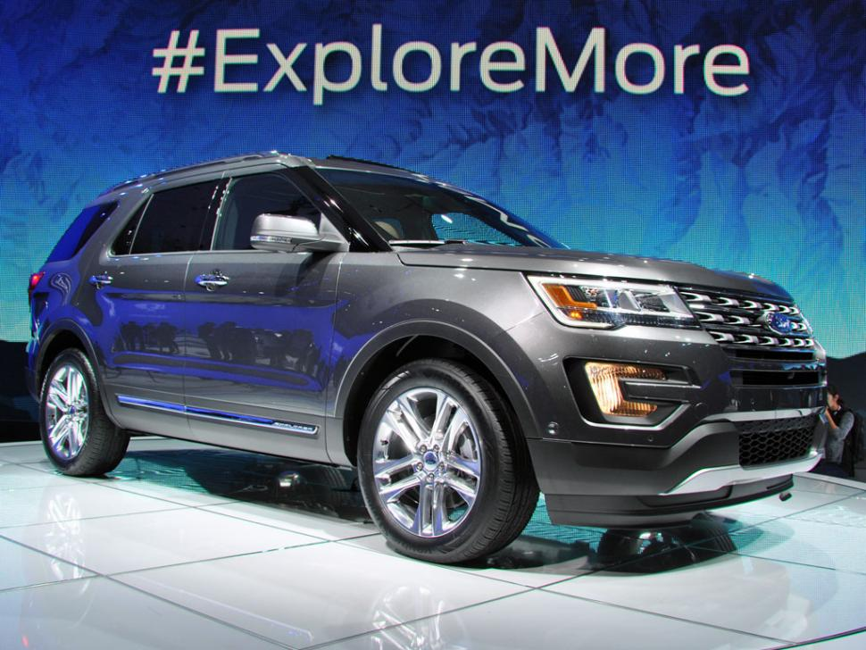 2016 Ford Explorer on 2014 LA Auto Show