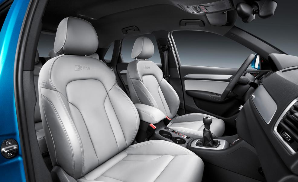 2016 Audi Q3 interior. Photo credits: Car and Driver
