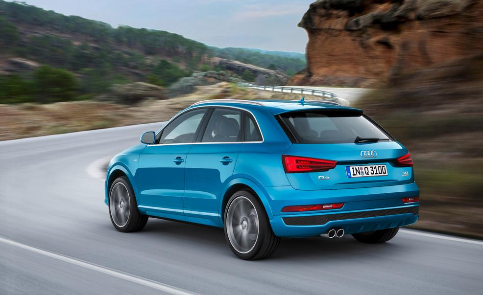 2016 Audi Q3. Photo credits: Car and Driver