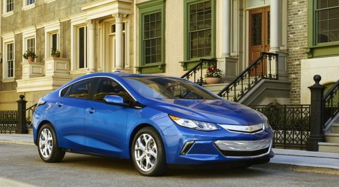2015 NAIAS Debuts: 2016 Chevrolet Volt