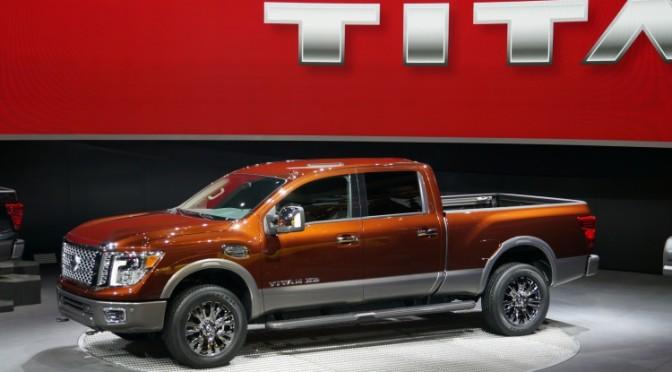 2015 NAIAS Debuts: 2016 Nissan Titan XD