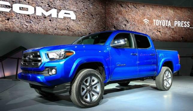 2015 NAIAS Debuts: 2016 Toyota Tacoma