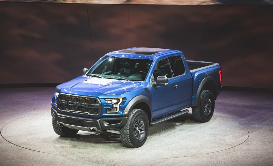 2017 Ford F150 Raptor on 2015 NAIAS