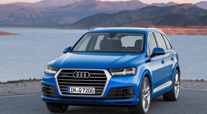 2015 NAIAS Debuts: 2016 Audi Q7