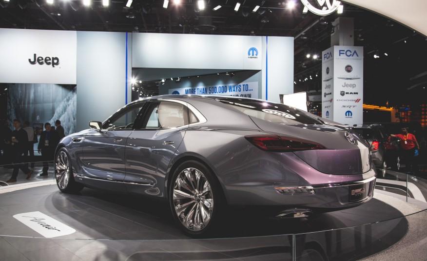 2016 Buick Avenir Concept