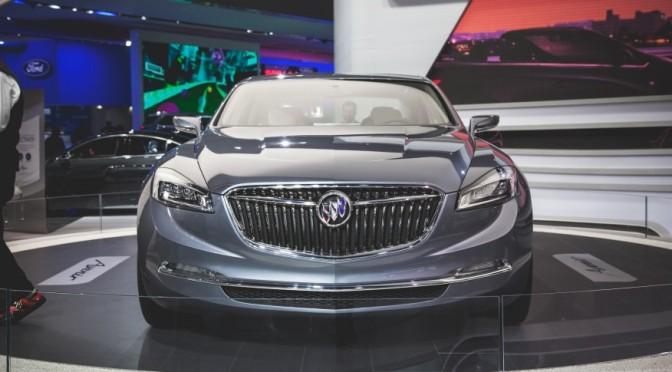 2015 NAIAS Debuts: 2016 Buick Avenir Concept