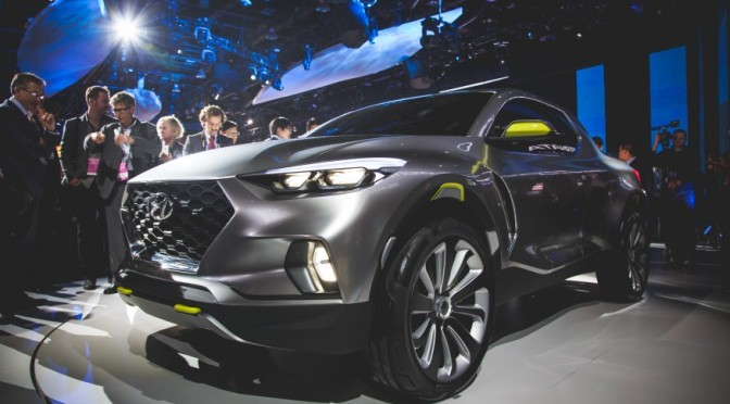 2015 NAIAS: 2016 Hyundai Santa Cruz Concept